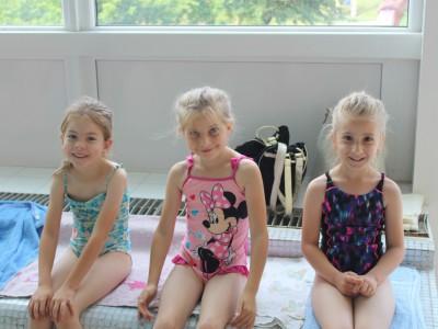 Plavecký výcvik detí z MŠ Ladce