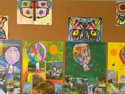 Výstava prác výtvarného krúžku v MŠ Ladce