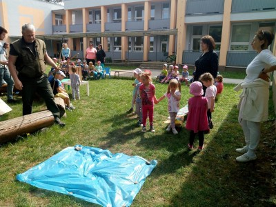 Lesná pedagogika v MŠ Ladce