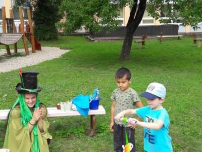 Detská letná olympiáda v MŠ Ladce
